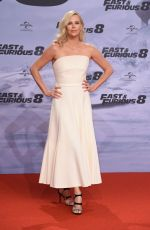 CHARLIZE THERON at Fast & Furious 8 Premiere at Cinestar Sony Center in Berlin 04/04/2017