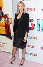 CHARLIZE THERON at Girlboss Premiere in Los Angeles 04/17/2017
