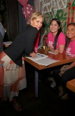 CHARLIZE THERON at Shelter for All Campaign Event in Los Angeles 04/20/2017