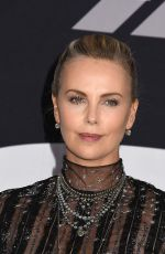 CHARLIZE THERON at The Fate of the Furious Premiere in New York 04/08/2017