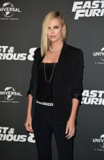 CHARLIZE THERON at The Fate of the Furious Premiere in Paris 04/05/2017