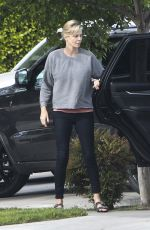 CHARLIZE THERON Out and About in Los Angeles 04/24/2017