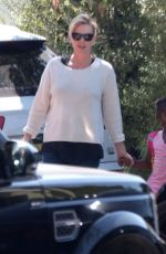 CHARLIZE THERON Out in Los Angeles 94/10/2017
