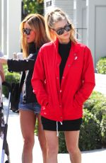 CHARLOTTE and GARLAND MCKINNEY Out in West Hollywood 04/10/2017