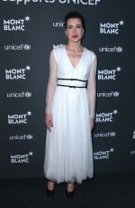 CHARLOTTE CASIRAGHI at Montblanc for Unicef Collection Launch in New York 04/03/2017