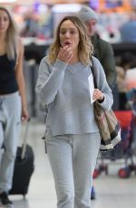 CHARLOTTE CROSBY at Airport in Adelaide 04/16/2017