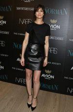 CHARLOTTE GAINSBURGH at Norman Cinema Society Screening in New York 04/12/2017