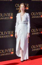 CHARLOTTE HOPE at Olivier Awards in London 04/09/2017