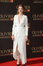 CHARLOTTE HOPE at Olivier Awards in London 04/09/2017