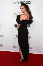 CHARLOTTE LE BON at The Promise Premiere in Hollywood 04/12/2017
