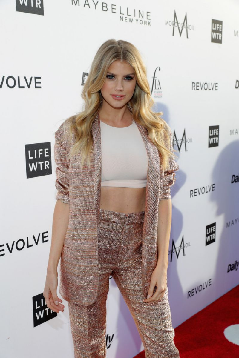 CHARLOTTE MCKINNEY at Daily Front Row