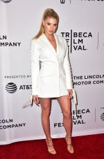 CHARLOTTE MCKINNEY at Literally, Right Before Aaron Screening, at Tribeca Festival in New York 04/23/2017