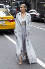 CHARLOTTE MCKINNEY Out and About in New York 04/21/2017