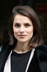 CHARLOTTE RILEY Arrives at BBC Radio 2 in London 04/28/2017