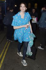 CHARLOTTE RITCHIE After The Philantrophist Play in London 04/11/2017