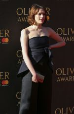 CHARLOTTE RITCHIE at Olivier Awards in London 04/09/2017