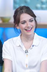 CHARLOTTE RITCHIE at Sunday Brunch TV Show in London 04/09/2017