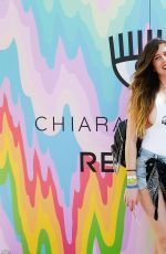 CHIARA FERRAGNI at Blonde Salad x Revolve Pool Party in Palm Springs 04/14/2017