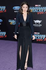 CHLOE BENNET at Guardians of the Galaxy Vol. 2 Premiere in Hollywood 04/19/2017
