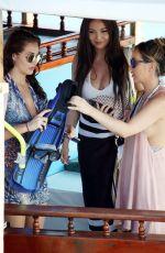 CHLOE, LAURYN and AMELIA GOODMAN on Vacation in Maldives 04/10/2017