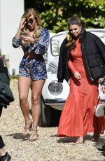 CHLOE LEWIS on the Set of Towie Finale in Coventry 04/26/2017