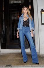 CHLOE LLOYD Arrives at Urban Decay VIP Dinner in London 04/24/2017