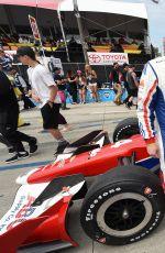 CHLOE MORETZ at Indycar 2017 Toyota Grand Prix in Long Beach 04/09/2017