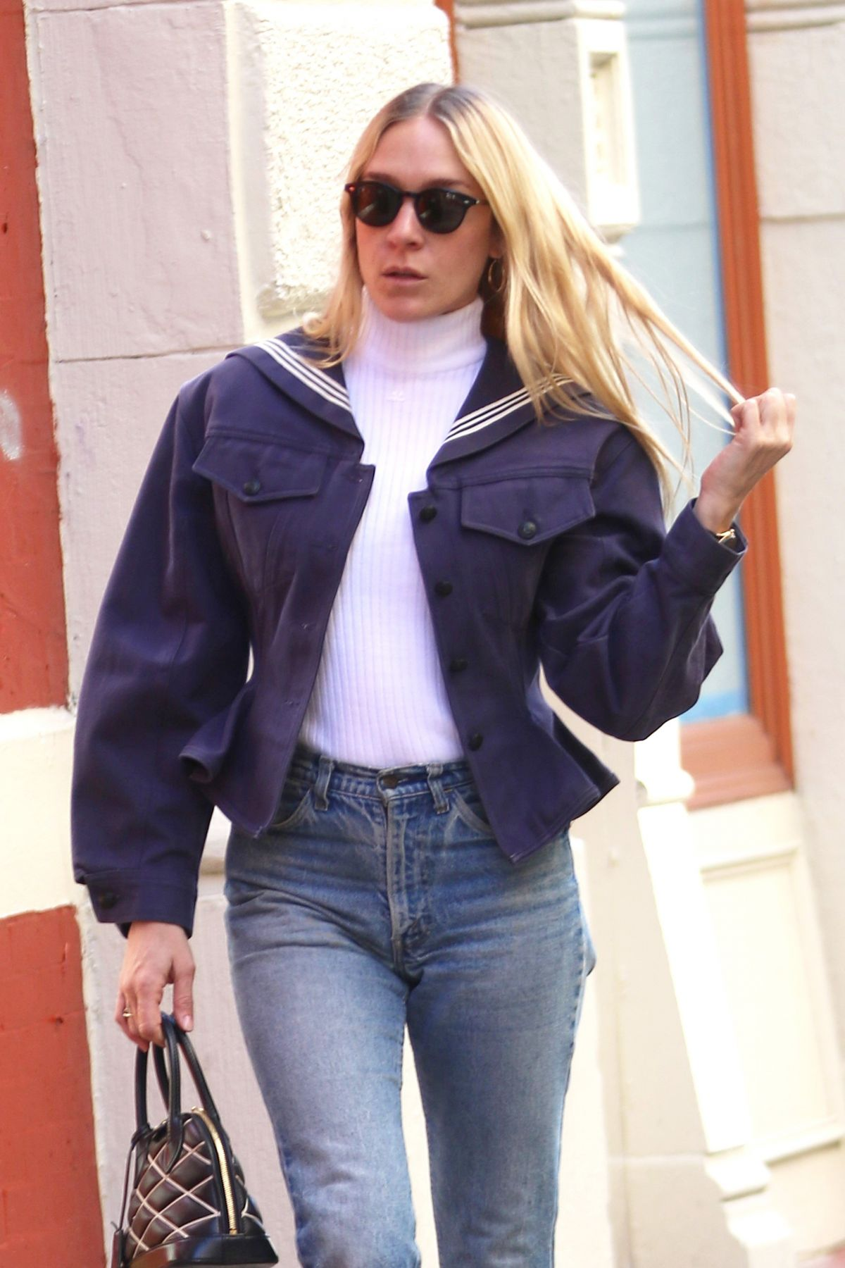 CHLOE SEVIGNY Out Shopping in New York 04/02/2017