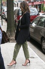 CHRISSY TEIGEN Out in New York 04/27/2017