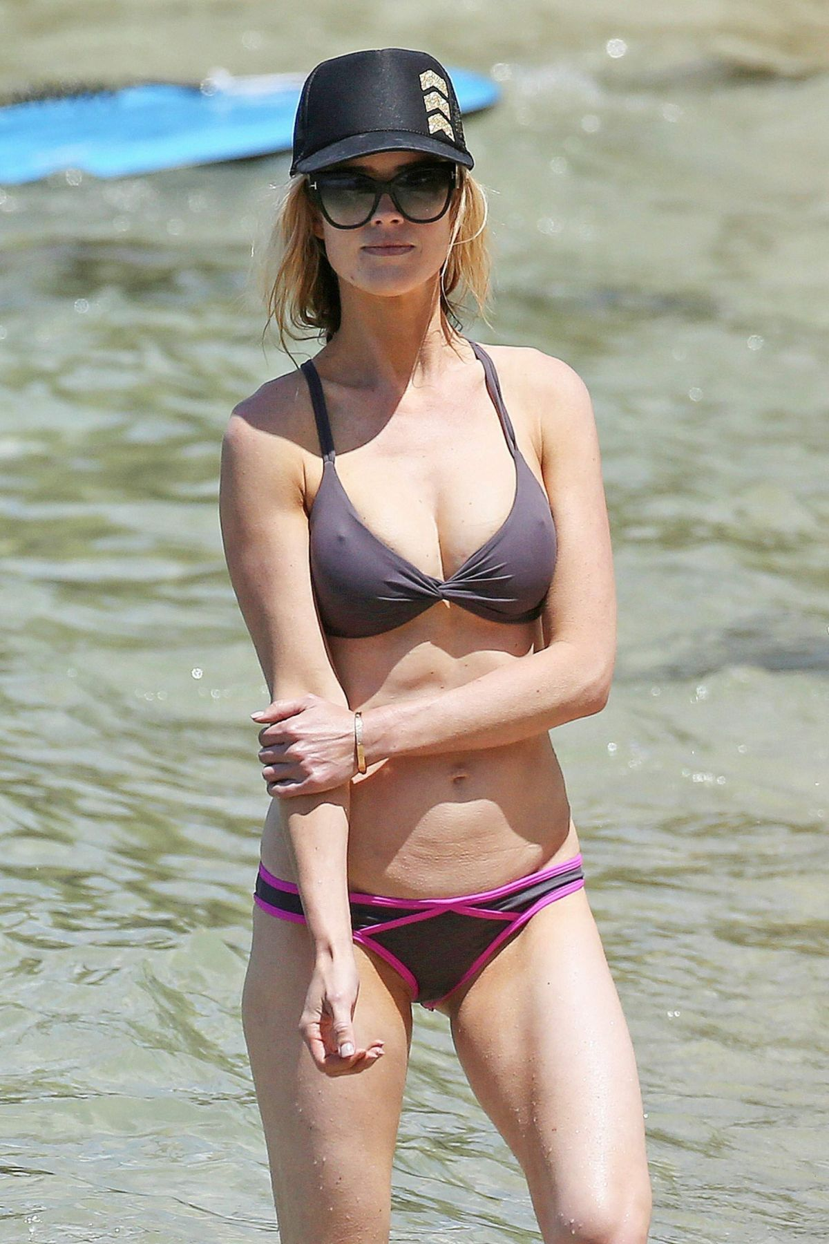 CHRISTINA EL MOUSSA in Bikini on the Beach in Maui 04/20/2017