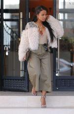 CHRISTINA MILIAN Leaves Barneys New York in Beverly Hills 04/28/2017