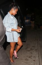 CHRISTINA MILIAN Night Out in Los Angeles 04/11/2017