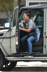 CHRISTINA MILIAN Out and About in Los Angeles 04/25/2017