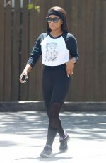 CHRISTINA MILIAN Out and About in Studio City 04/27/2017