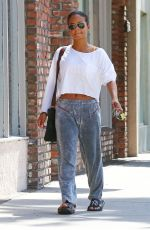 CHRISTINA MILIAN Out in Los Angeles 04/26/2017