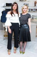 CHRISTINA RICCI at Saks Fifth Avenue and Marc Metrick Dinner in New York 04/06/2017