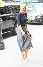 CHRISTINA RICCI Out in New York 04/20/2017