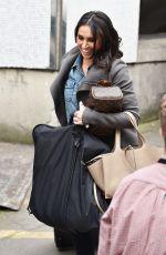 CHRISTINE BLEAKELY Leaves ITV Studios in London 04/20/2017