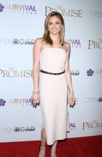 CHRISTINE EVANGELISTA at The Promise Screening in New York 04/18/2017