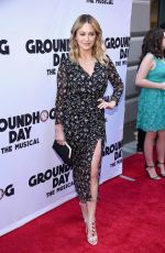 CHRISTINE TAYLOR at Groundhog Day Broadway Opening Night in New York 04/17/2017