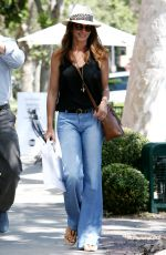 CINDY CRAWFORD Out Shopping in Hollywood 04/22/2017
