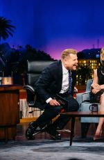 CLAIRE DANES at Late Late Show with James Corden in Los Angeles 04/04/2017