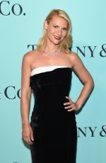 CLAIRE DANES at Tiffany & Co. 2017 Blue Book Collection Gala in New York 04/21/2017