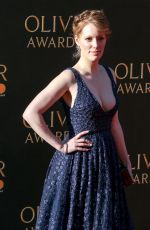CLARE FOSTER at Olivier Awards in London 04/09/2017