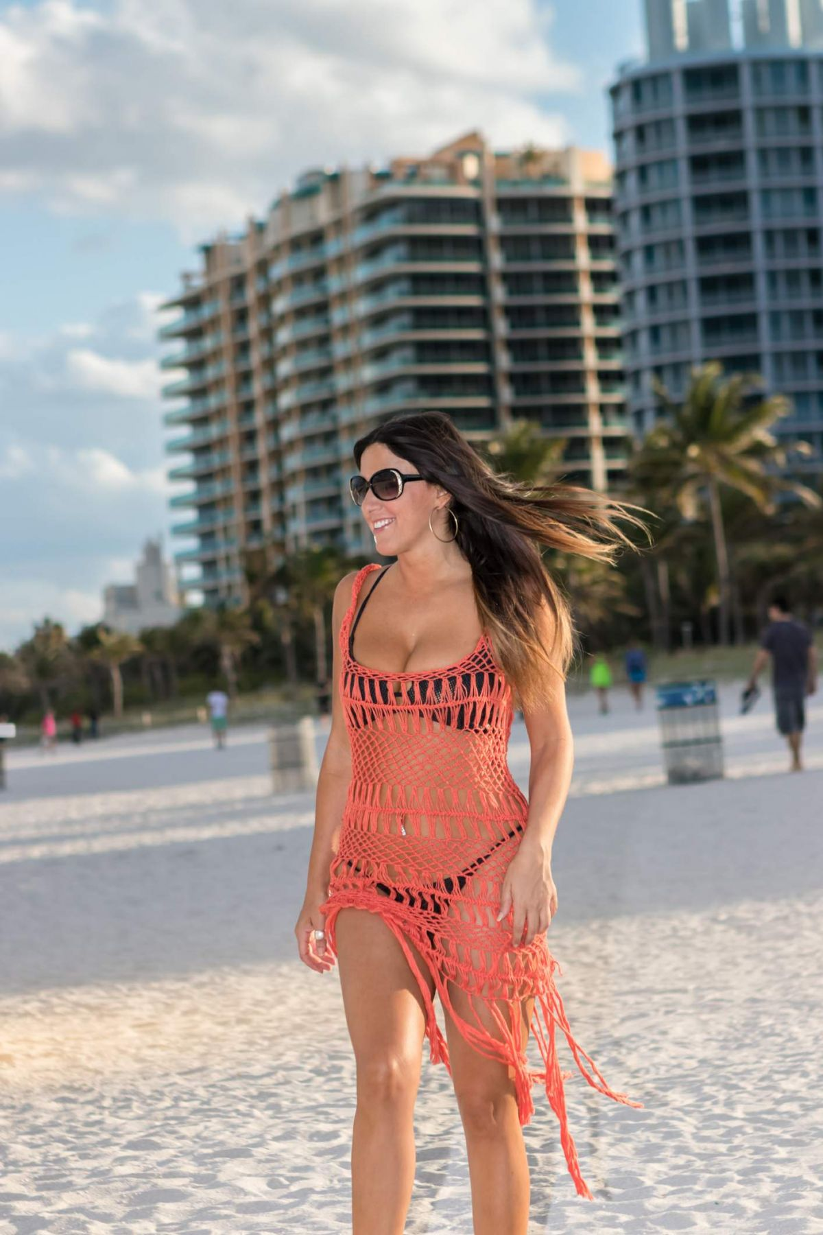 Claudia Romani in Bikini on South Beach in Miami 2 Pic 7 of 35