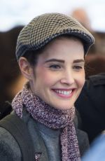 COBIE SMULDER at Present Laughter in New York 04/15/2017\