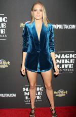 CODY HORN at Magic Mike Live Las Vegas Opening Night 04/21/2017