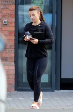 COLEEN ROONEY Leaves Her Gym in Cheshire 04/26/2017