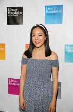 CONSTANCE WU at Young Lliterati Toast Event in Los Angeles 04/04/2017