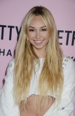 CORINNE OLYMPIOS at Pretty Little Thing Shape x Stassie Launch Party in Hollywood 04/11/2017